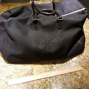 Louis Vuitton black duffle